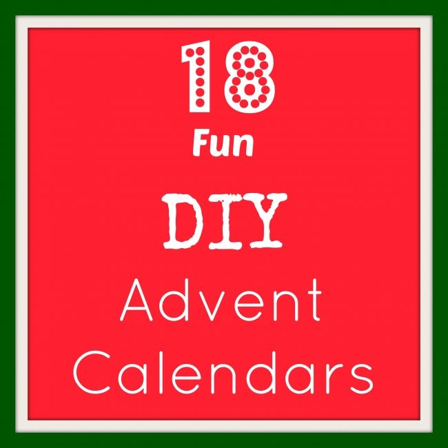 18 Fun DIY advent calendars | BabyCentre Blog