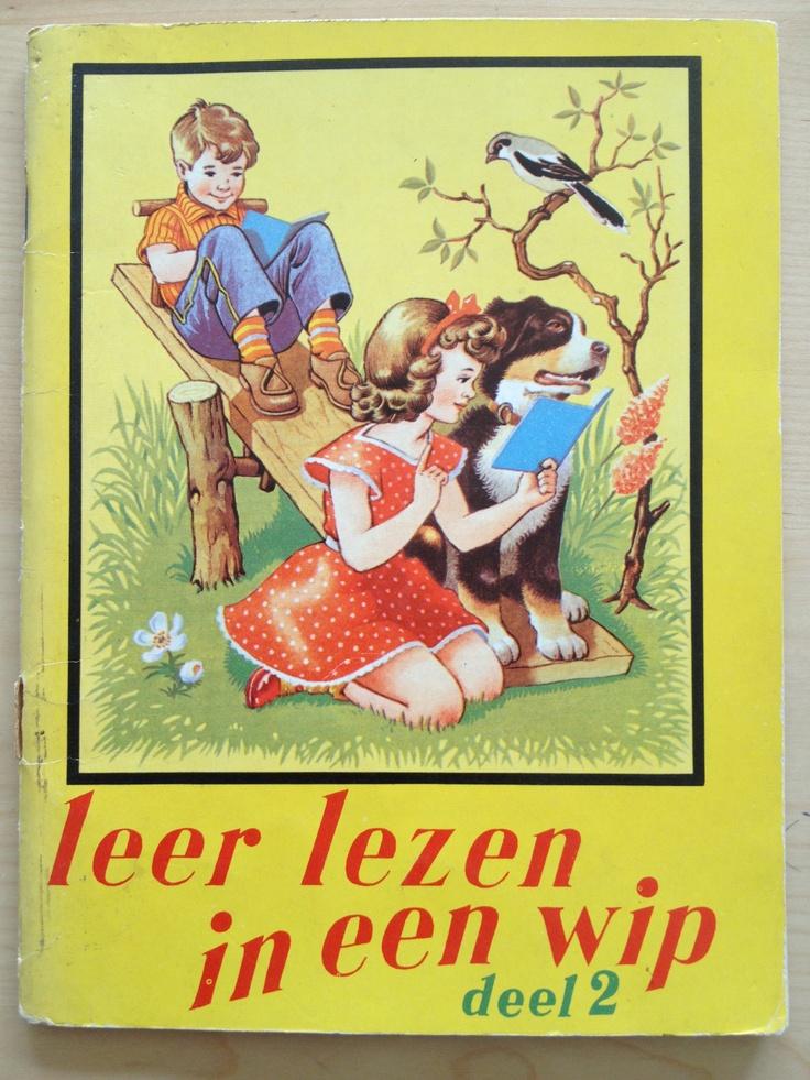 Leren lezen boekje uit mijn jeugd, jaren 60: Leer lezen in een wip, deel 2