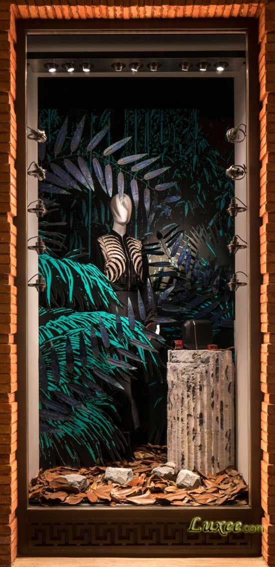 2016 Autumn Window Display at Shanghai Hermes Maison 上海爱马仕之家2016秋季主题橱窗 森海奇石 Photo by Seth Powers.