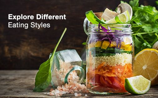 Explore different eating styles and make healthy eating part of your life with dietary plans for all your requirements #healthyeating #betterandbetter