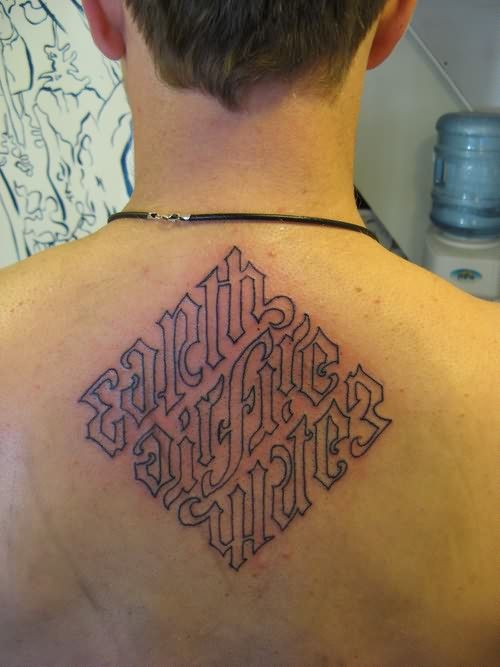 Down With My Demons Tattoo: 1000+ Images About Ambigram Tattoos On Pinterest