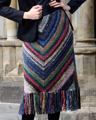 COURTNEY knitted skirt