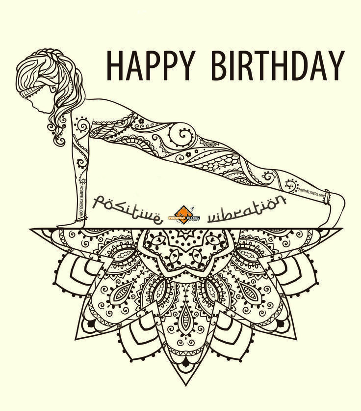 Best 25+ Happy Birthday Yoga Ideas On Pinterest