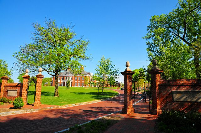 Johns Hopkins University Entrance - Baltimore