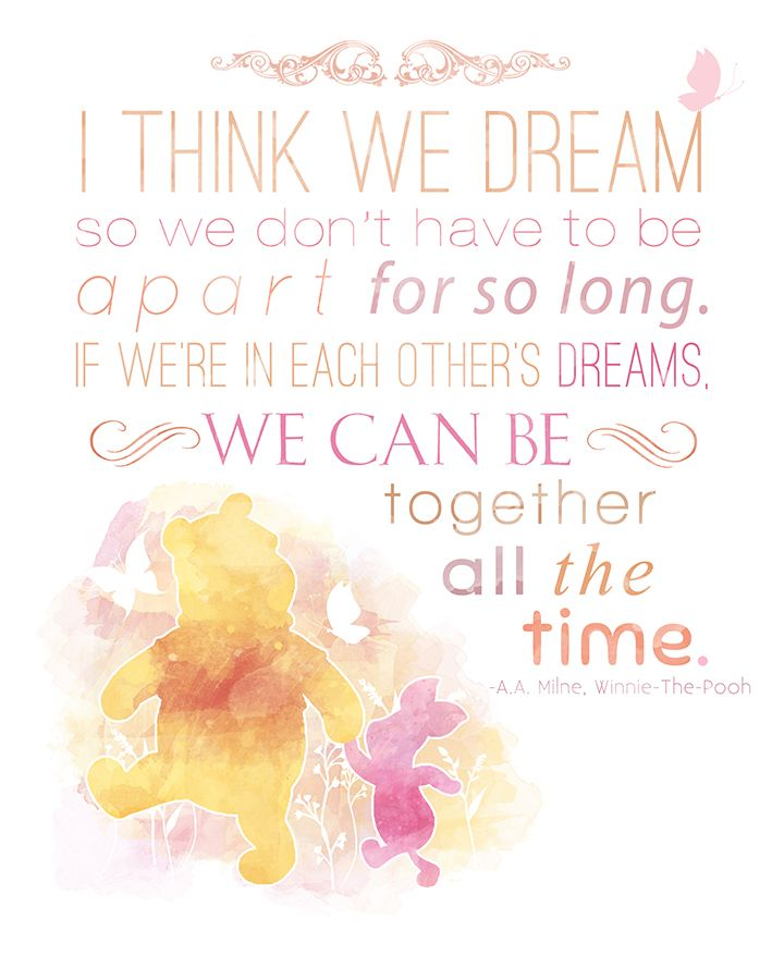 Download Quote Photo: Winnie The Pooh 8x10 Poster