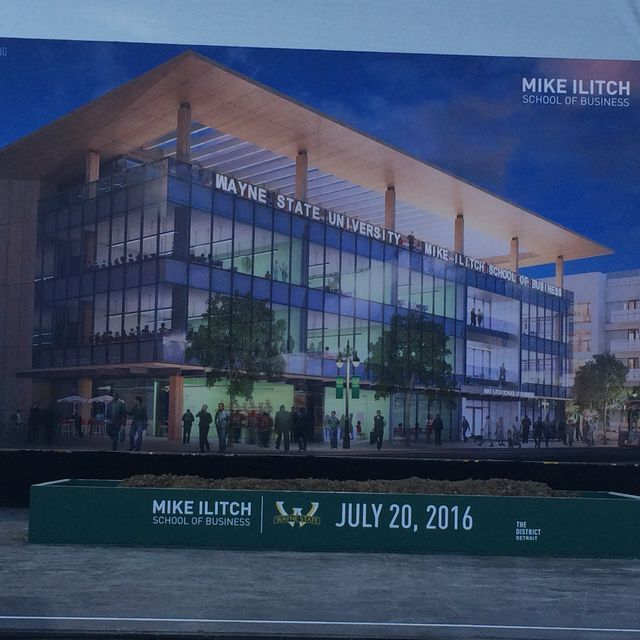 Mike Ilitch School of Business will be built next to Little Caesars Arena