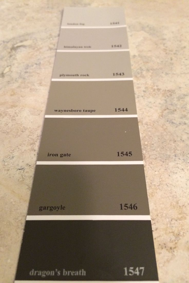 Benjamin Moore Dragon S Breath At The Bottom Of The