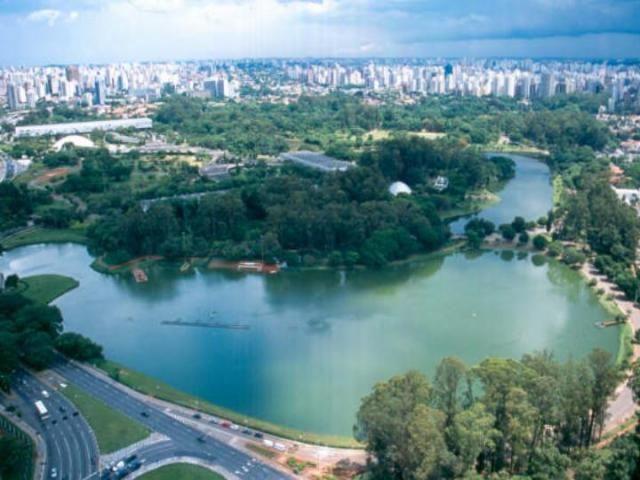 Ibirapuera Park - São Paulo, Brazil.