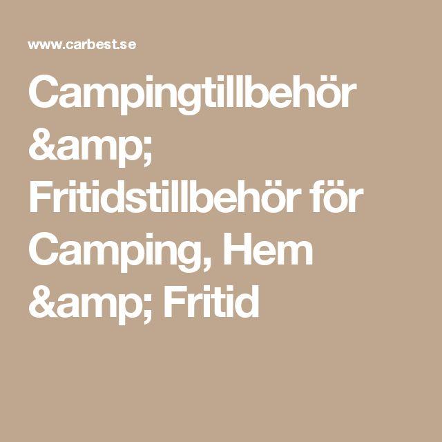 Campingtillbehör & Fritidstillbehör för Camping, Hem & Fritid