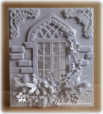 Jolanda's Crea-Blogg   *** I like the window die.  It does not come with the brick.