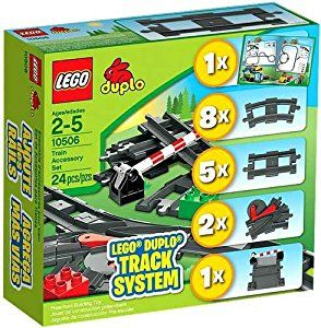 Lego Duplo 10506 Train Accessory Set Track System by LEGO