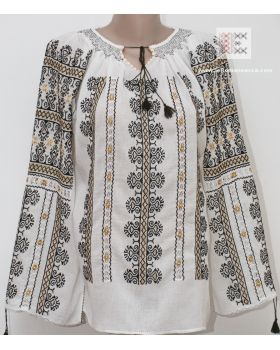 """hand made embroidery - Romanian blouse called """"ie"""" - worldwide shipping!"""