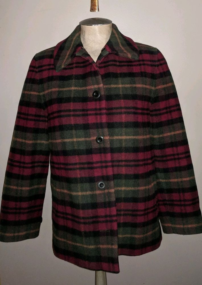 ll bean wool hunting jacket