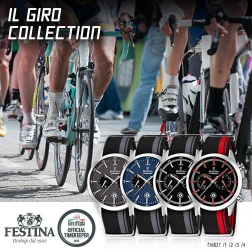 Scoprite Il Giro Collection by Festina, Official Timekeeper del #Giro!