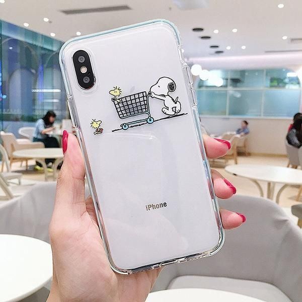 Cartoon Snoopy Handyhülle Für Iphone 11 Pro Max X Xr Xs Max 7 Phonecases Handy Iphone Iphone Hülle