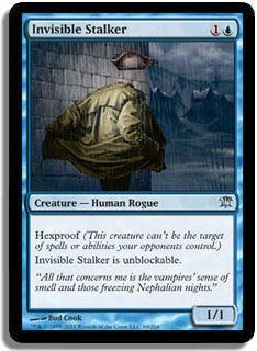 mtg unblockable | Invisible Stalker - Innistrad Magic the Gathering MTG Single Card View