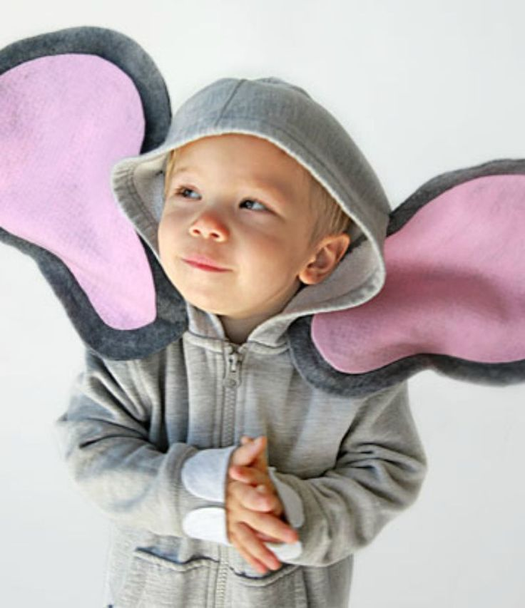 Halloween's a big deal in your house but the costumes seen are usually pretty typical. Our DIY hoodie elephant costume is sure to shake things up!