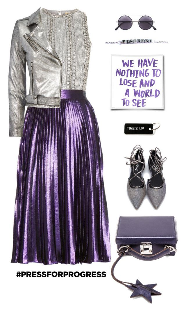 """Nothing To Lose"" by ms-wednesday-addams ❤ liked on Polyvore featuring Mark Cross, Lace & Beads, Gucci, Vera Wang and IRO"