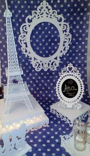 Set Candy Bar París Torre Eiffel Vintage - $ 3.800,00