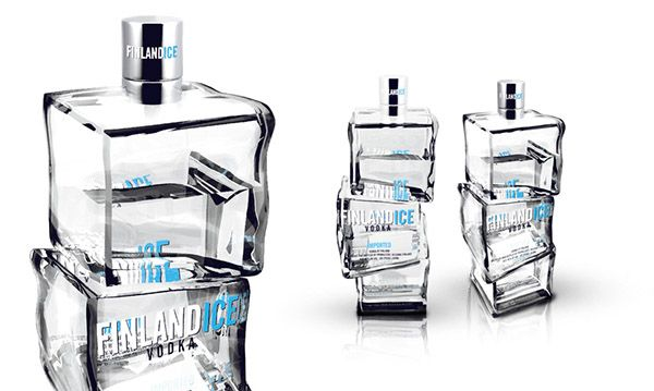 Finlandia Bottle - FINLANDICE VODKA on Behance