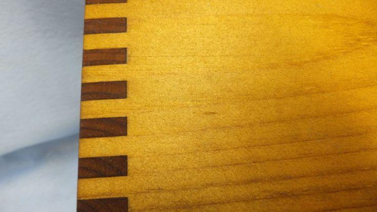 Finishing a Wood Display Box.