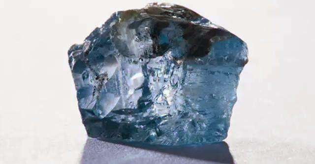 Penemuan Berlian Biru Besar Langka Di Afrika Selatan