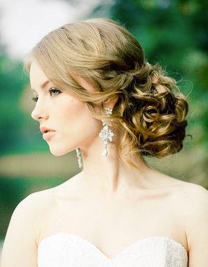 2014-2015 Saç Modelleri,Saç Renkleri: 2014 Sade,Doğal,Romantik Gelin Topuzları/Topuz saç modelleri