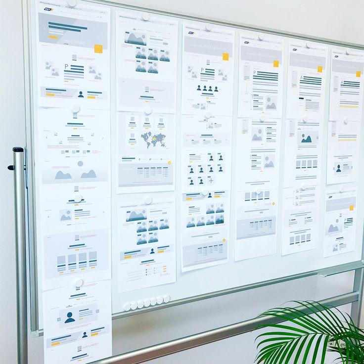 Du ❤️ #wireframes und #prototyping? Wir auch! 😍 Ein kleiner Einblick in unsere aktuelle #Webdesign #Entwicklung 🖥. #enjoy #stayfocused #Konzeptschmied #werbeagentur #lübeck  Bald mehr unter: https://konzeptschmied.de