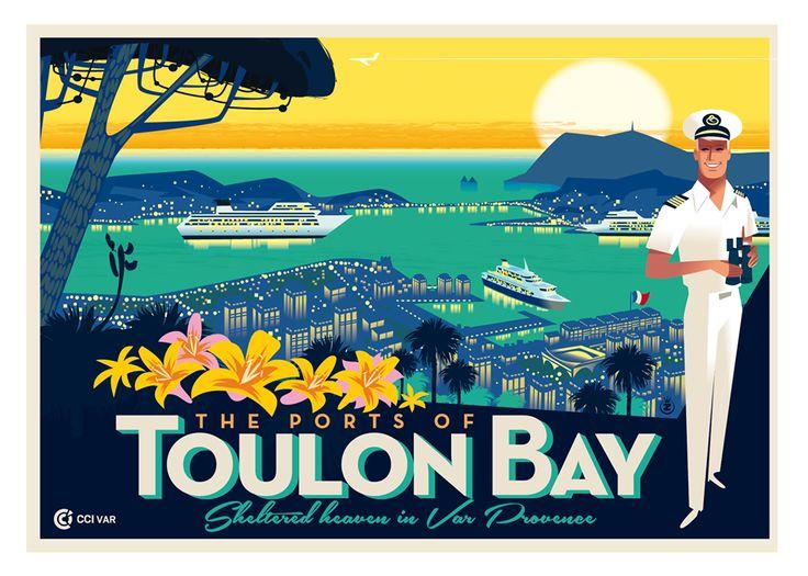 Illustration de Monsieur Z  The Ports of Toulon Bay - CCI du Var #cruise #toulon #provence