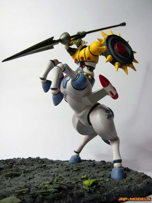 Jeeg Antares vs Zaran - JAP-MODELS Resin Figure & Model Kit Dioramas