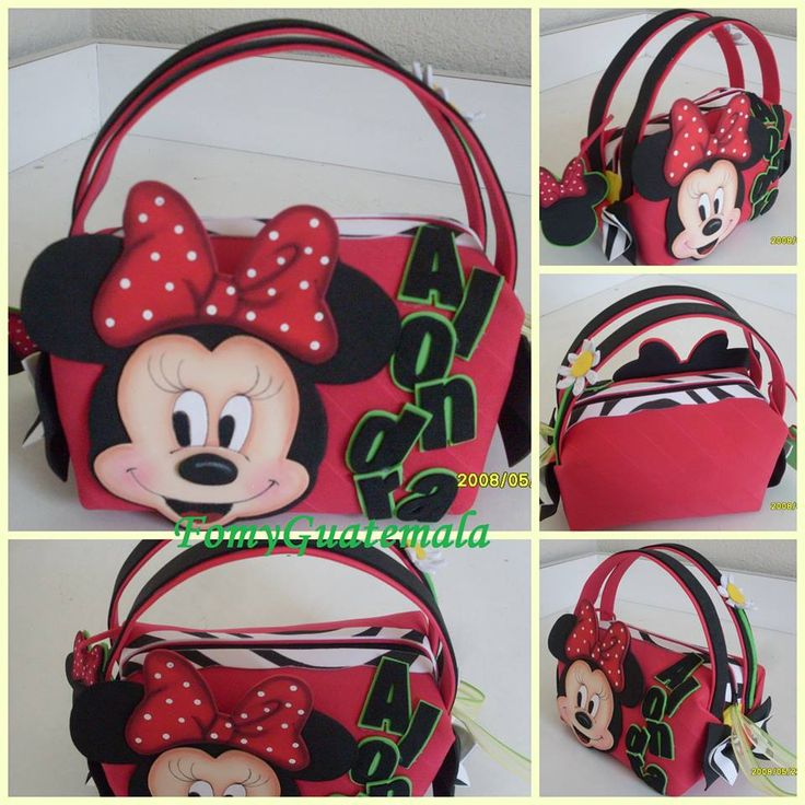 bag minnie mouse red(foami)