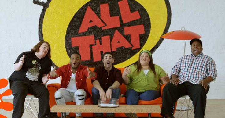 'All That' Reunion Happening on Nickelodeon This Spring -- Danny Tamberelli, Kel Mitchell, Josh Server, Lori Beth Denberg and Kenan Thompson will reunite for an 'All That' marathon on Nickelodeon's The Splat. -- http://tvweb.com/news/all-that-reunion-nickelodeon-2016/