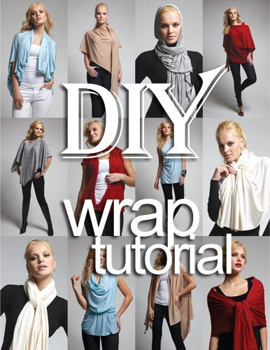 If you love wraps and cardigans, this is the best of both worlds. Fine Craft Guild has the tutorial to make this beautiful wrap cardigan that is really easy and looks amazing. You can do one in every color that you need for those fall outfits. The cardigan can be worn in many different ways so...