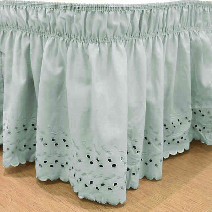 Easyfit Eyelet Ruffled Bed Skirt Bed Bath Beyond Cama