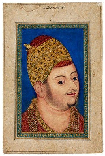 Wide 18.15 105 2007 portraet af sultan ibrahim adil shah ii af bijapur