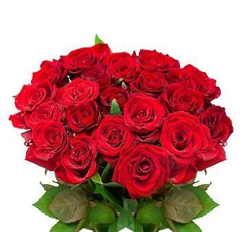Piękny walentynkowy bukiet, można go zakupić na E-KWIACIARNIE.PL Wykonanie: Pracownia Kwiatowa Bajka.