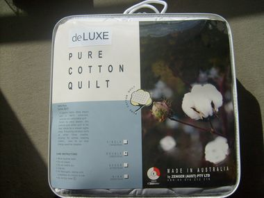 Single Cotton Quilt - VIEW OUR PRODUCTS - Deluxe Linen