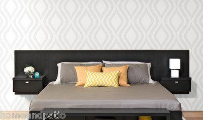 New Series 9 Designer Black King Size Platform Storage Bed