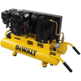 gas air compressor. dewalt 8-gallon 150-psi twin stack portable gas air compressor dxcmtb5