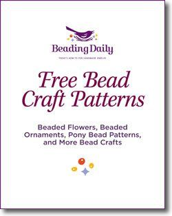 Free Bead Craft Patterns: Beaded Flowers, Beaded Ornaments, Pony Bead Patterns and More Bead Craft Patterns - Beading Daily