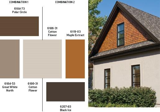 Exterior paint colours exterior colors sico cedar color siding pinterest color black for Exterior cedar siding stain colors
