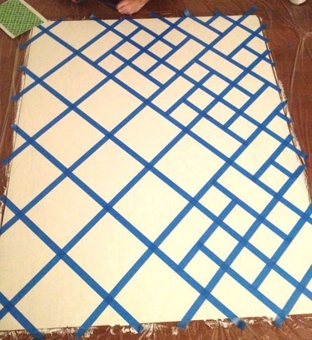 Great Idea for Creating Your Own Geometric-Modern Art