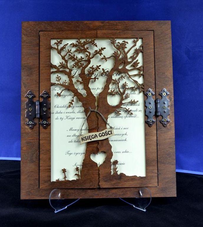 Księga gości drzewo ślub wesele prezent (4041732204) - Allegro.pl - Więcej niż aukcje.