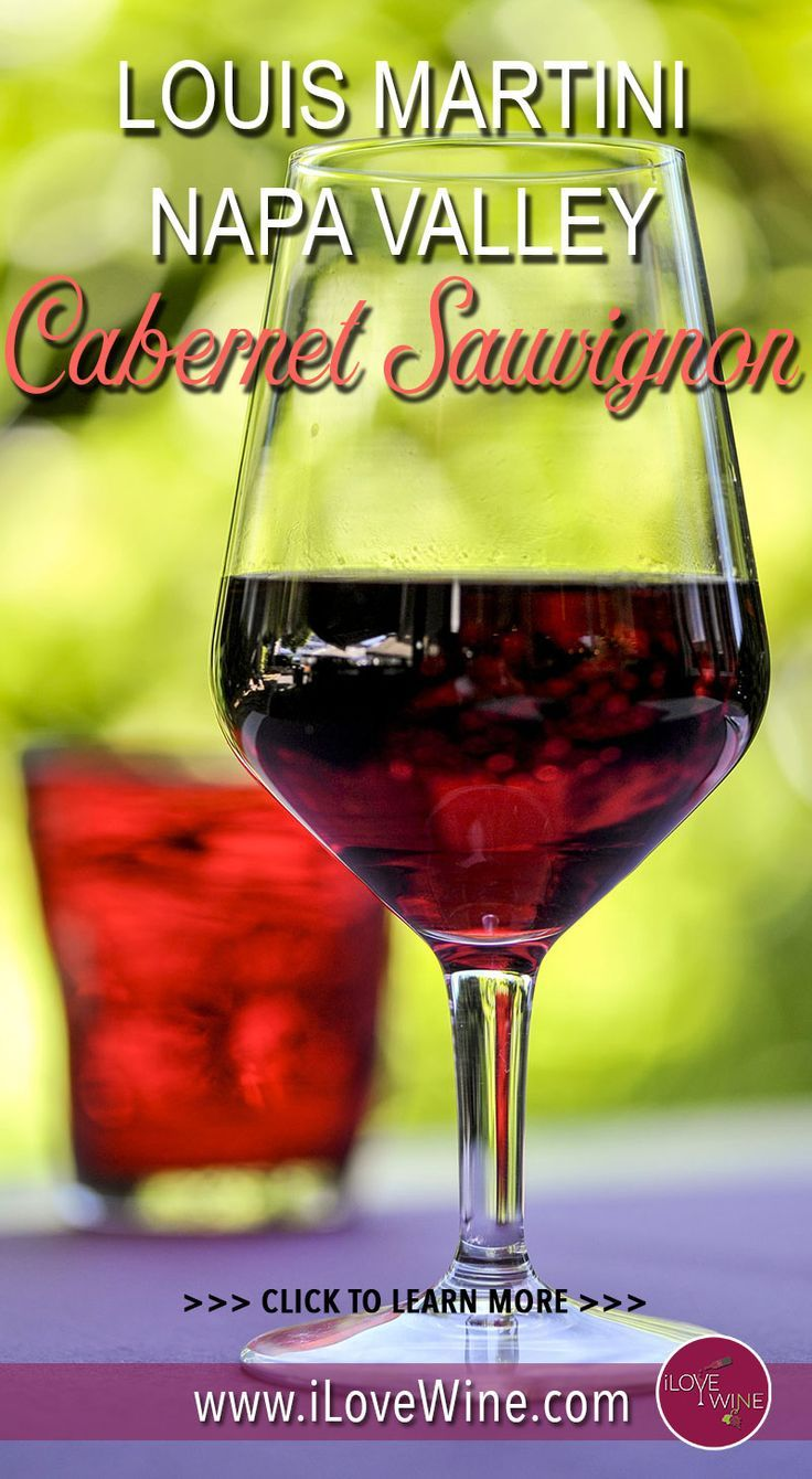 Meet Your Red Wine Soulmate Louis Martini Napa Valley Cabernet Sauvignon 2014 Napa Valley Cabernet Sauvignon Sauvignon Red Wine