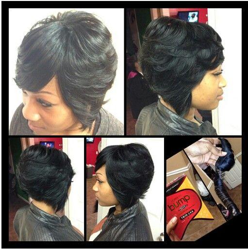 cute work hairstyles : Sew in Bob: Bob Hairstyles Sew Ins, Weave Hairstyled, Hairstyle ...