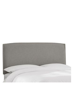51% OFF Skyline Nail Button Headboard (Grey)