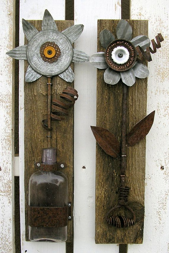 Wood And Metal Wall Art best 25+ metal flower wall art ideas only on pinterest | metal