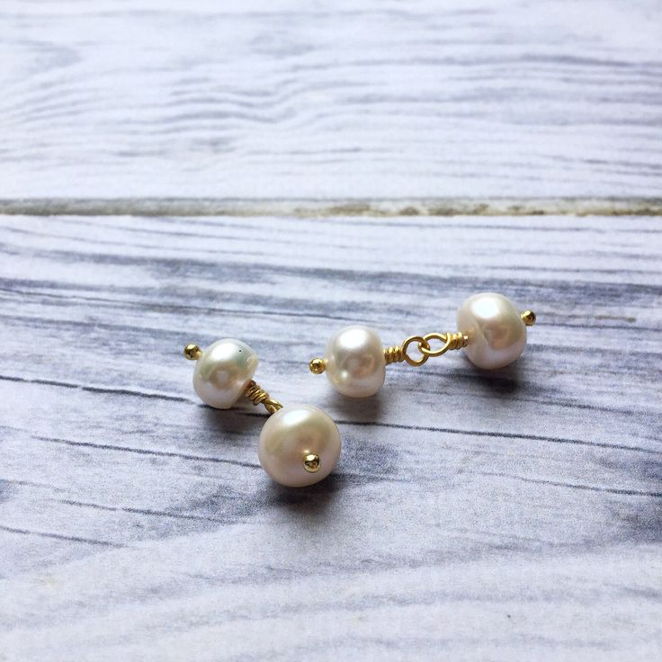 Pearl cuff links, mens dress wear, ivory and gold accessories, Christmas present for him, stocking filler for husband, xmas gift for brother by Ellieshandmadeart on Etsy https://www.etsy.com/uk/listing/566080599/pearl-cuff-links-mens-dress-wear-ivory