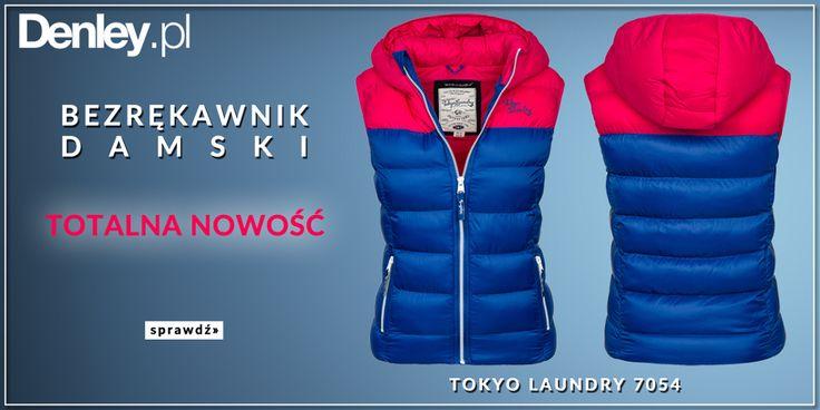 O nasze Panie też dbamy jesienią! Właśnie wjechały na nasz sklep bezrękawniki damskie marki Tokyo Laundry, które ochronią Was przed chłodem. Sprawdź: http://www.denley.pl/pol_m_Odziez-damska_Kamizelki-damskie-333.html