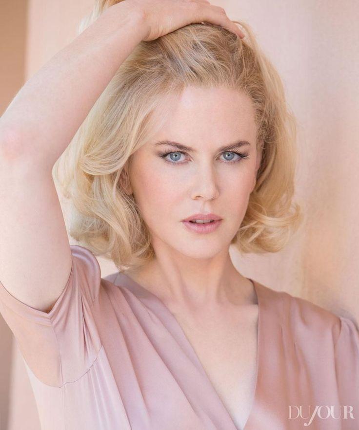 Becoming Nicole Kidman. - Dujour